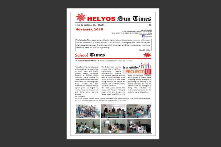 Helyos Sun Times and Science Journal 2018.1 #8